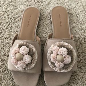 Banana Republic Beige Flat with Detail